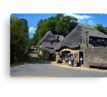 Heart of the Village Canvas Print
