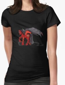 Illusion the shifter Womens Fitted T-Shirt