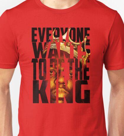 Biggie King (Transparent) - Luke Cage Unisex T-Shirt