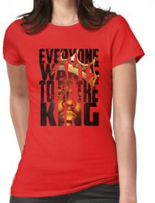 Biggie King (Transparent) - Luke Cage Womens Fitted T-Shirt