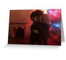 Christmas Eve Dancing Greeting Card