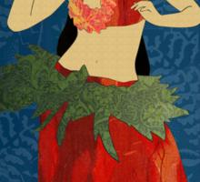 Polynesian Dance Sticker