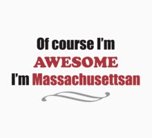 Massachusetts Is Awesome One Piece - Short Sleeve