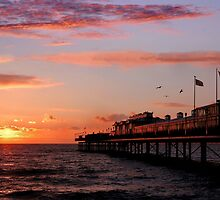 First Light at Paignton Pier by rodsfotos