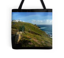Lands End Panorama, Cornwall Tote Bag