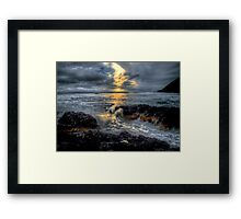 It's All In A Days Work ~ Oregon Coast ~ Framed Print