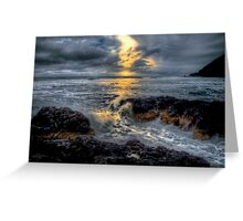 It's All In A Days Work ~ Oregon Coast ~ Greeting Card