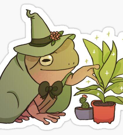 Green Tree Frog - Worf Sticker