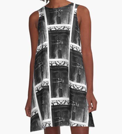 Sherlock - 221b A-Line Dress