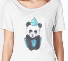 Panda Cupcake Women's Relaxed Fit T-Shirt