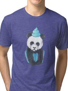Panda Cupcake Tri-blend T-Shirt