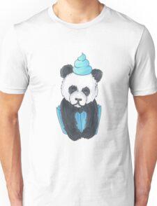 Panda Cupcake Unisex T-Shirt