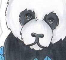 Panda Cupcake Sticker