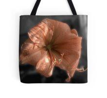 Peach Amaryllis Tote Bag