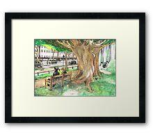 Sherlock - Regent's Park Framed Print