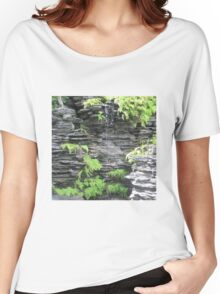 Small Waterfall Women's Relaxed Fit T-Shirt