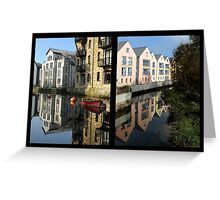 Totnes Past and Present Greeting Card