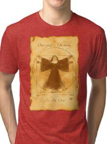 Vitruvian Nun Tri-blend T-Shirt