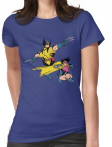 Dynamic Duo of the 90's Womens Fitted T-Shirt