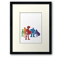 Let's Save the World! Framed Print