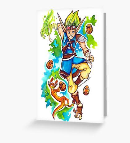 Jak and Daxter - Precursor Legacy Greeting Card