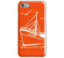 Ross Tiger in Orange iPhone Case/Skin
