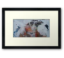 Wedge tail eagle in the South oz desert Framed Print