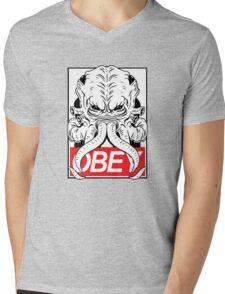 OBEY CTHULU Mens V-Neck T-Shirt