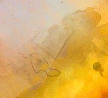 Helix Nebula Close Up Watercolour Sticker