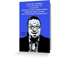 Penn Jillette Atheist Christmas Greeting Card