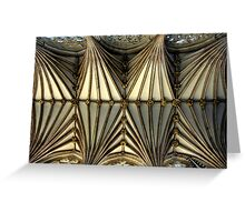 Cathedral Ceiling Greeting Card