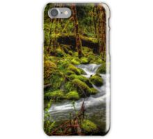 About The Green Stuff ~ Oregon Scenic Rivers ~ iPhone Case/Skin