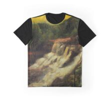 Early Autumn Gold Graphic T-Shirt