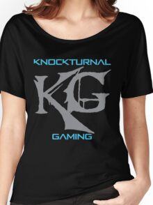 Big KG Knockturnal Gaming Logo Women's Relaxed Fit T-Shirt