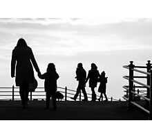 With Love from Morecambe Photographic Print