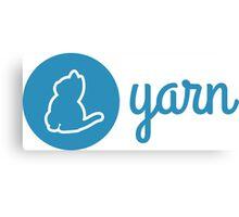 Yarn Logo Canvas Print