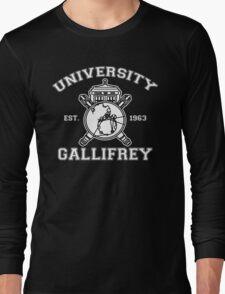 University of Gallifrey Long Sleeve T-Shirt