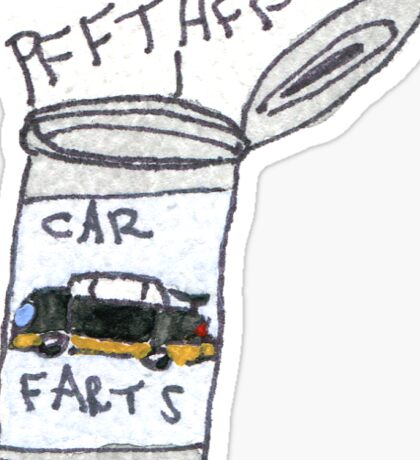 Car Farts Sticker