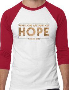Built On Hope Men's Baseball ¾ T-Shirt