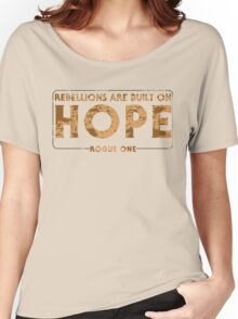 Built On Hope Women's Relaxed Fit T-Shirt