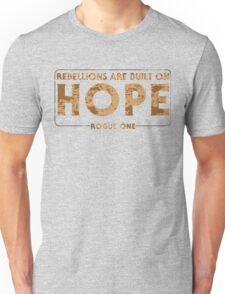 Built On Hope Unisex T-Shirt