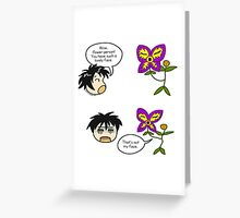 There's Something Wrong With Everyone Comic Greeting Card