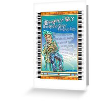 Elton John - Empty Sky Greeting Card