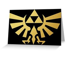 Zelda - Triforce Greeting Card