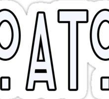 CROATOAN Sticker