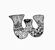 """Hipster Letter """"W"""" Zentangle Unisex T-Shirt"""