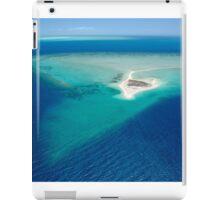Remote sand cay iPad Case/Skin
