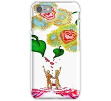 Svengali Spilt Monkey Orchids iPhone Case/Skin