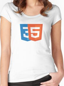 HTML5 + CSS3 Women's Fitted Scoop T-Shirt