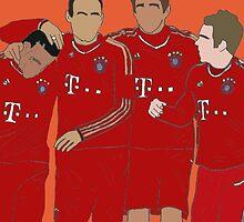 Bayern Munchen Boys by BoshyJacon
